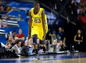 Caris LeVert is going to be Michigan's top defender to coming off of the bench in 2013-14.