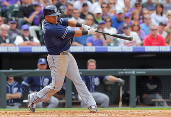 Padres' shortstop Everth Cabrera.