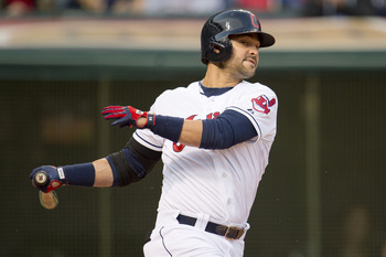 Indians first baseman Nick Swisher.