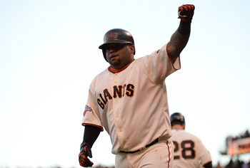 Giants third baseman Pablo Sandoval.
