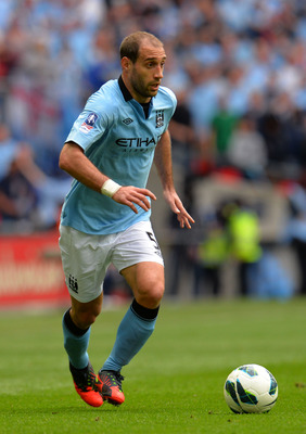 Pablo Zabaleta: Looking forward to a bright future.