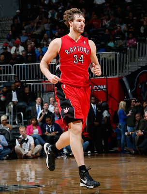 Gray didn't see too much playing time this season with Valanciunas stepping up at center.