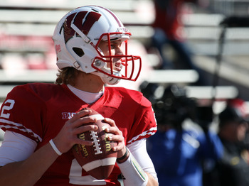 The new leader of the Wisconsin offense
