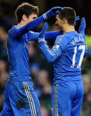Oscar and Eden Hazard should be much better for Chelsea next season with a year playing for the Blues under their belts.
