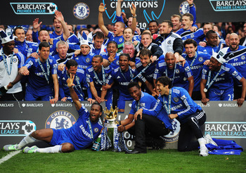 Chelsea would certainly like to see a replay of this happy 2009/10 scene next season.