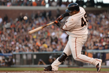 Pablo Sandoval leads the Giants with 18 RBI.