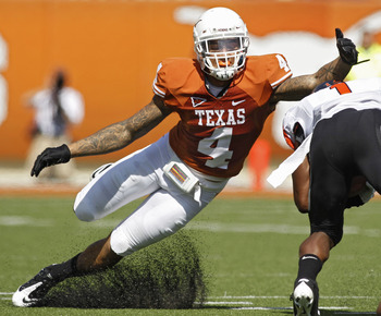 Kenny Vaccaro may be the best safety available in this year's draft.