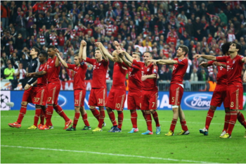 Bayern Were In Celebratory Mood