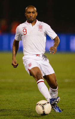 Defoe on England duty.