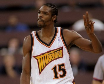 Golden State Warriors' Latrell Sprewell