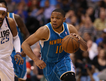 New Orleans Hornets' Eric Gordon