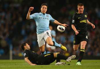 Nasri's entire tenure at Manchester City has resembled a firework that never takes off.