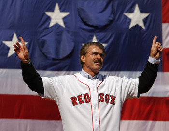 The Red Sox made a nice gesture by involving Bill Buckner in Fenway Park ceremony last year.
