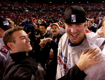 Derek Lowe stepped up in the 2004 playoffs.