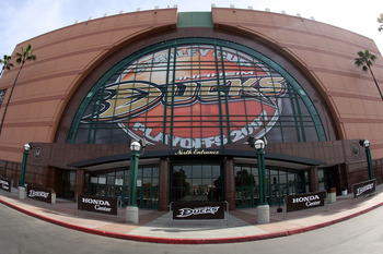 Honda Center in Anaheim.