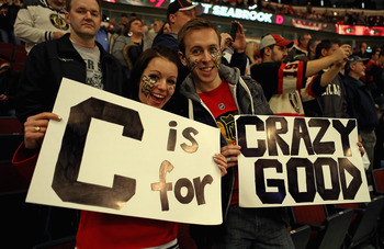 Blackhawks' fans are passionate and proud.