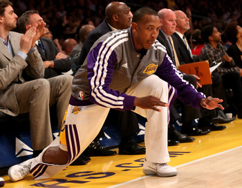 Chris Duhon is most commonly seen on the bench with his warm-up gear on.