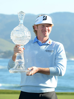 Brandt Snedeker won at Pebble Beach