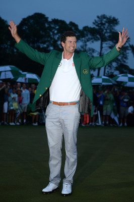 Luckily for Adam Scott, no fans found any problems with his game.