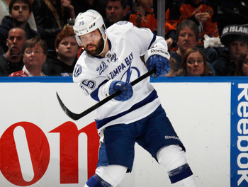 Radko Gudas is one of the Lightning's young stars who needs to be locked up.