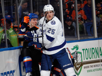 Matt Carle has done a nice job in his first season with the Lightning. But, they still need more help on the blue line.
