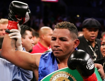 Though certainly unpolished as a fighter, Ricardo Mayorga generates heat as well as anyone.