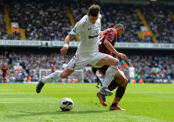 Since arriving at Tottenham in 2007 Bale has blossomed into the one of the PL's leading talents.