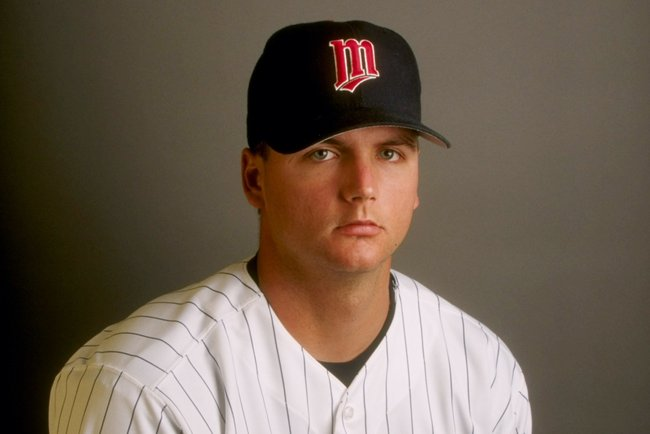 23 Feb 1998:  A.J. Pierzynski #70 of the Minnesota Twins at Spring Training at the Hammond Stadium in Fort Myers, Florida. Mandatory Credit: Rick Stewart  /Allsport