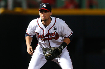 Chris Johnson picked up the slack with Freddie Freeman out.