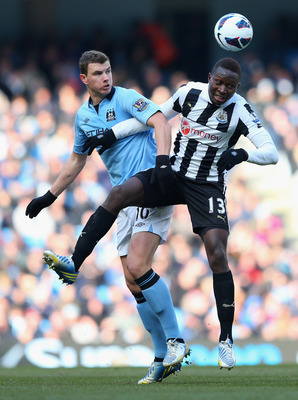 Yanga-Mbiwa has been a growing force in Newcastle's defence