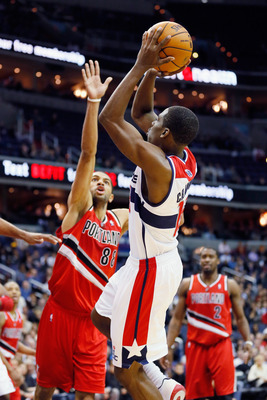 Jordan Crawford, who ended up finishing the season with the Boston Celtics, played a vital role in the Wizards' ninth win of the year against the Portland Trailblazers.
