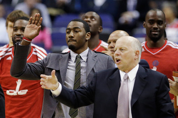 After spending the first part of the season on the bench, John Wall returned to the lineup in January.