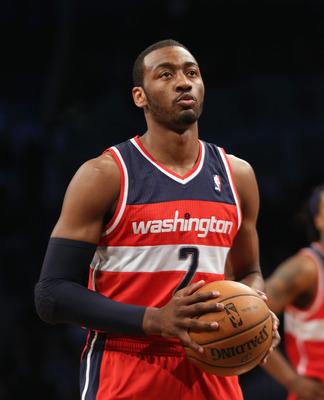 John Wall's shining moment this year came against the Memphis Grizzlies on March 25 when he scored 47 points.