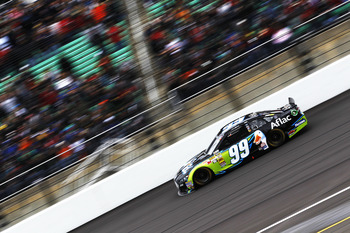 Carl Edwards' short-track prowess is on the upswing.