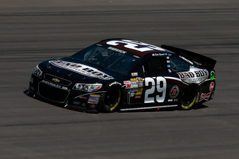 Kevin Harvick has the right racing temperment for short tracks.