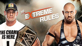 Ryback challenges for the WWE Championship against John Cena. Courtesy: wwe.com