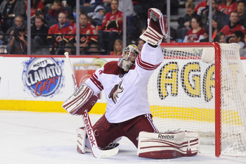 Phoenix Coyotes' Mike Smith