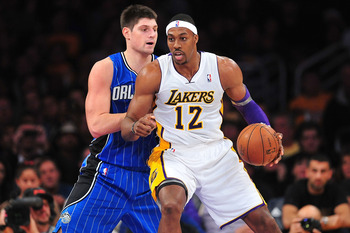 Former Magic star Dwight Howard and the star-laden Los Angeles Lakers are humbled after a loss to the team Howard demanded to be traded from