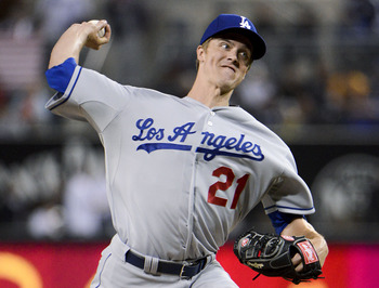 Greinke was injured in a bench-clearing brawl with the Padres.