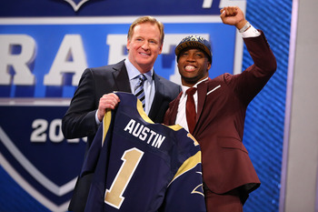 Bills passed over Tavon Austin to secure more draft picks.