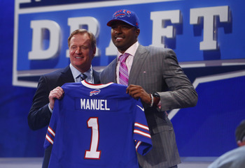 E.J. Manuel is excited to enter the competition for starting QB.