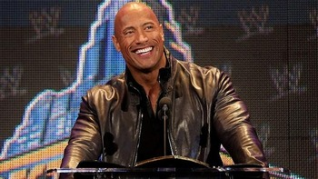 The Rock, pre-surgery (Photo from WWE.com)