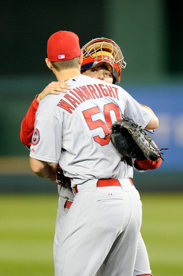 Adam Wainwright and Yadier Molina.