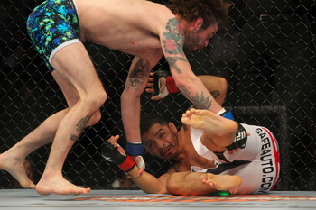 Leonard Garcia had another rough night, losing to Cody McKenzie.