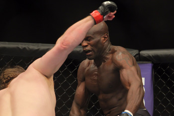 Cheick Kongo doesn't remember this picture being taken.