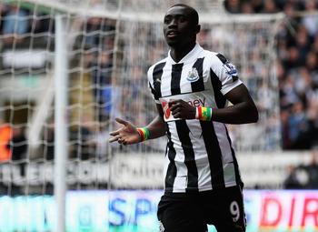 Newcastle striker Papiss Cisse has been linked with Borussia Dortmund.