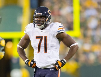 Even after the draft, the Chicago Bears still want Israel Idonije back.