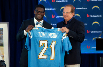 It appears the new regime in San Diego wanted LaDainian Tomlinson back in powder blue.