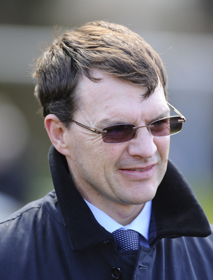 Aidan O'Brien, trainer of Lines of Battle