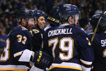 The St. Louis Blues have reasons to smile after a great week and home-ice advantage in the first round of the playoffs.